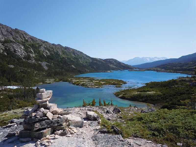 Deep Lake overlook