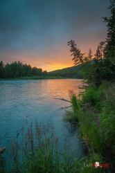 Russian River Sunset Photographer: Cecil Sanders / LFM www.cecilsandersphotography.com