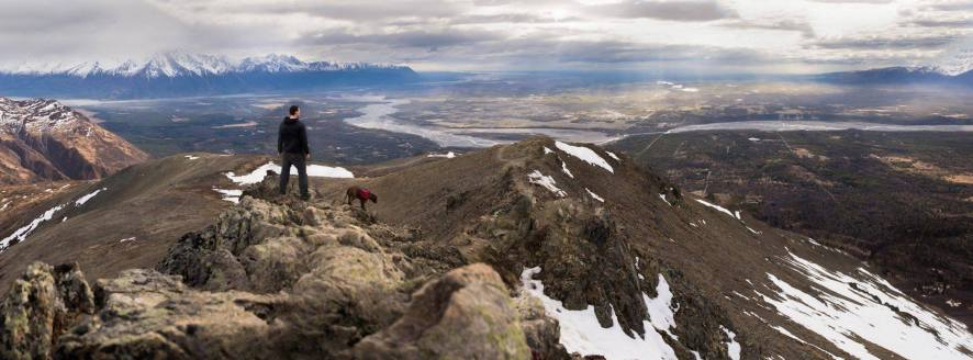 Standing Atop Lazy Mountain, Palmer, AK. Photo by Brad Tombers Facebook: https://www.facebook.com/BradTombers?fref=ts