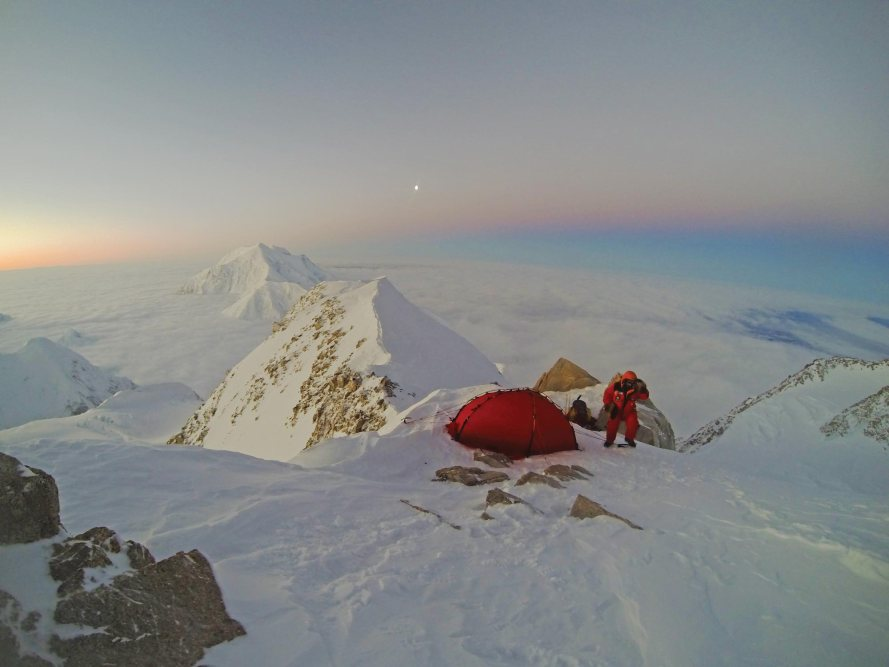 January 2015 …camp at 16,300 feet on the West Buttress ridge