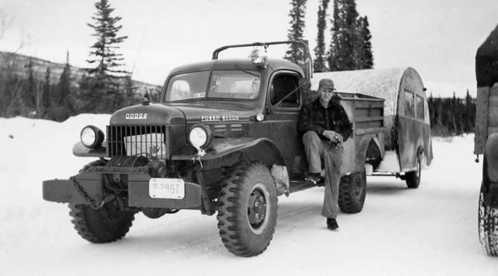 Buck Buchanan's new Dodge Power Wagon
