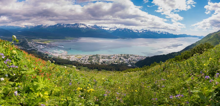 A view of Seward. - Copyright 2016 | Cecil Sanders Photography